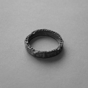 Organic Sterling Silver Ring