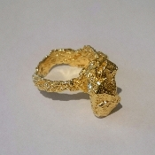 18K Yellow Gold Ring, 'Mare Nostrum' Collection