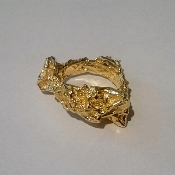18K Yellow Gold Ring 'Mare Nostrum' Collection